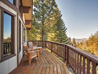 Great 2BR Mountain View House in Running Springs w/ AC, WiFi, Satellite TV and More - Running Springs vacation rentals