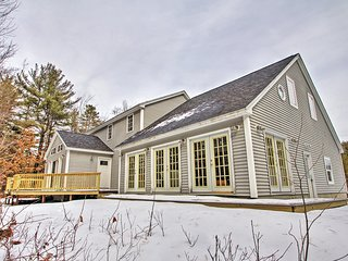 Charming 3BR + Loft Center Ossipee Home w/Wifi, Charcoal Grill & Fire Pit – Walk to the Water & Boat Ramp! Just 15 Minutes From the Ski Slopes! - Center Ossipee vacation rentals