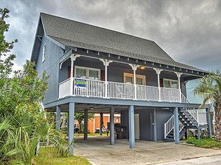 New Listing! Breezy 4BR Garden City Beach House w/Wifi & Private Covered Deck - Incredible Location Just Steps from the Beach! - Garden City vacation rentals