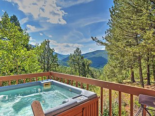'Horseshoe Lodge' 2BR Divide Cabin w/Hot Tub - Divide vacation rentals
