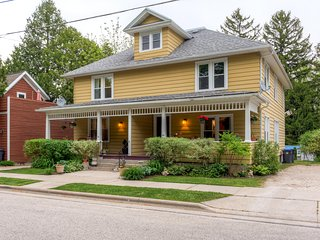 New Listing! Inviting 3BR Elkhart Lake Townhome w/Wifi, Large Fenced Yard & Multiple Private Porches - Walking Distance to the Lake, Fine Dining, Shopping, Live Music & More - Elkhart Lake vacation rentals