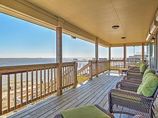 Waterfront 3BR New Orleans House w/Private Dock, Enormous Deck & Stunning Views of Lakes Pontchartrain & St. Catherine – Approximately 30 Miles From Downtown New Orleans - Pearlington vacation rentals