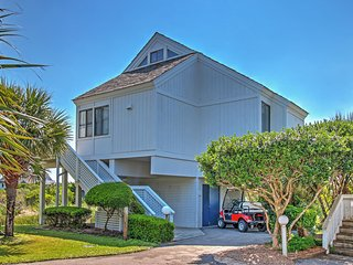 New Listing! Alluring 3BR Bald Head Island Villa w/Wifi, Multiple Decks & Gorgeous Ocean Views - Tranquil Cul-De-Sac Location Just Steps from the Beach! - Bald Head Island vacation rentals