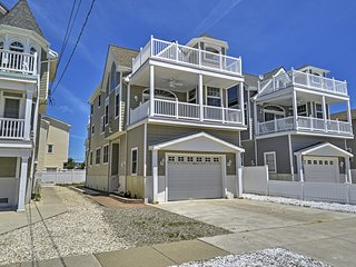 Inviting 4BR Sea Isle City House w/Wifi, Private Balcony & Serene Ocean Views - Instant Access to Beaches & Boating! - Sea Isle City vacation rentals