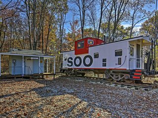 Unique 1BR Springville Railroad Caboose Cabin! - Springville vacation rentals