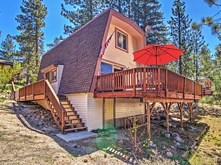 Relaxing 2BR Fawnskin Cabin w/Private Jacuzzi, Deck & Scenic Views - Quiet, Secluded Location Near Big Bear Lake! - Fawnskin vacation rentals
