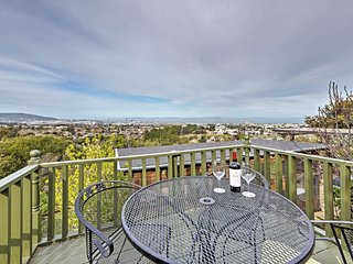 Sweet 1BR Millbrae Apartment w/Private Entrance, Wifi & Gorgeous Bay Views - 7 Minutes from SFO, Close to Golf Courses, Wineries & More! - Millbrae vacation rentals