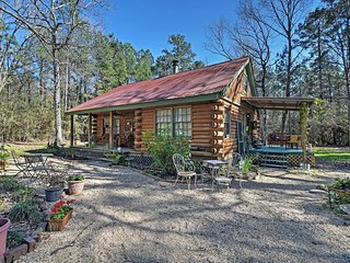 Charming 3BR Clinton Cabin w/Cable TV & Beautiful Countryside Views -  Secluded on 3 Wooded Acres, Near Historic Sites, Antique Shops & LSU! - Clinton vacation rentals