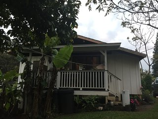 simple sweet country cottage one and a half mile out of Makawao town clean - Makawao vacation rentals