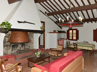 3-room flat w/pool, fireplace, BBQ, table tennis - Guasticce vacation rentals