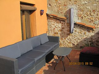 Spacious Village house with Sunny roof terrace - Tresserre vacation rentals