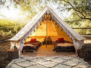 #1 ZION Views!  Furnished LUXURY TENTS by MOONLIGHT OASIS Camps - Virgin vacation rentals