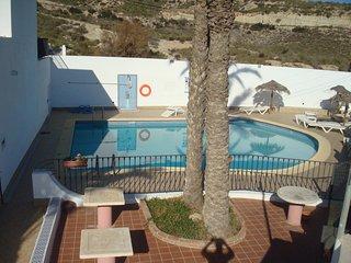 apartamento vistas al mar con balcón vera colina 19 - Vera vacation rentals