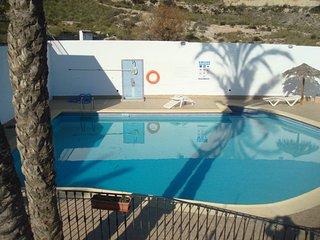 apartamento gran terraza con vistas al mar vera colina 18 - Vera vacation rentals