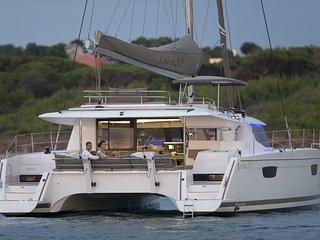 Les Seychelles  à bord d'un catamaran - Victoria vacation rentals