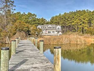 NEW! 'Fishing Cove' Waterfront 8BR Cambridge House - Cambridge vacation rentals