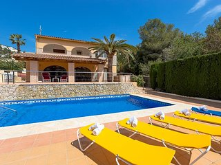 5 bedroom Villa in Alicante, Benissa, Costa Blanca, Spain : ref 2036225 - La Llobella vacation rentals