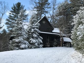 CLOUD VIEW- 5BR/3.5BA- LUXURY CABIN WITH A BREATHTAKING MOUNTAIN VIEW, 2 WOOD BURNING FIREPLACES & 1 GAS LOG FIREPLACE, HOT TUB, WIFI, FOOSBALL, AIR HOCKEY, PINBALL ARCADE GAME, POOL TABLE, SECLUDED, PAVED ACCESS, GAS GRILL! STARTING AT $400/night! - Blue Ridge vacation rentals