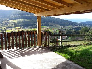 Location plein sud avec vue sur vallée Gerardmer - Cleurie vacation rentals