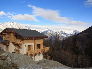 New Chalet for 8 (+2) with stunning views - La Tzoumaz vacation rentals