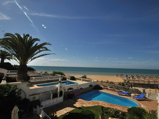 Beachfront Villa with Private Pool Stunning Sea Views in Upmarket Vale do Lobo - Vale do Lobo vacation rentals