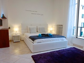 LARGE STUDIO 34sqm, modern, separate kitchen, 2 beds, wifi, city center of Nice - Nice vacation rentals
