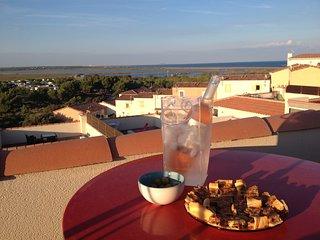 Villa vue panoramique sur Etangs Garrigues et la mer - Saint-Pierre-sur-Mer vacation rentals