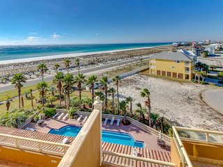 6th floor condo with breathtaking views of Gulf of Mexico & Bay from balcony! - Pensacola Beach vacation rentals