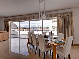 Luxury 3 Bedroom Penthouse with Large Terrace - Sliema vacation rentals