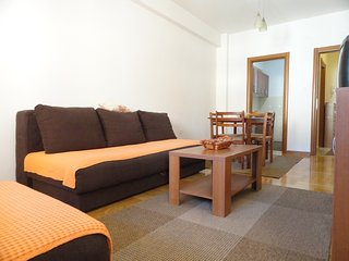 Commodious one bedroom apartment for 5 in Budva - Budva vacation rentals