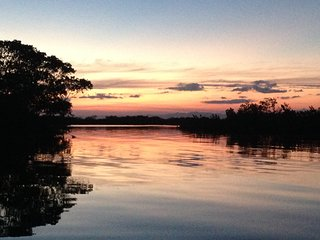 Waters Edge Villa is located on the Placencia Lagoon - Placencia vacation rentals