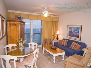 1 Bedroom with Garden Tub and 2 Reserved Beach Chairs/Umbrella at Calypso - Panama City Beach vacation rentals