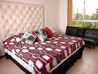 MODERN 3 bed  A/C apartment 5 BLOCKS PARQUE LLERAS - Medellin vacation rentals