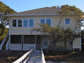 Bright Topsail Beach House rental with Deck - Topsail Beach vacation rentals
