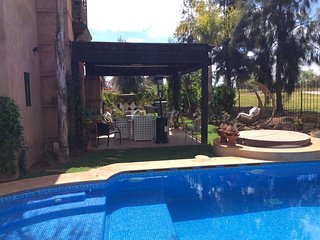 Riad with 3 rooms in Marrakech with private heated pool, hot tub, terrace with amazing views - right on the Golf! - Marrakech vacation rentals