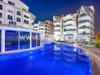 Comfortable 3BR apartments with fitness and swimming pool at Melda Palace - Antalya vacation rentals