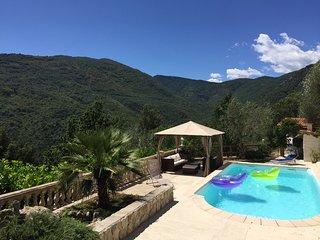 Bas de villa avec piscine privative sans vis-à-vis - Sospel vacation rentals