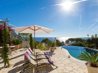 Charming Villa w/ Beautiful Ocean and Mountain Views, Just Steps to the Beach! - Eze vacation rentals