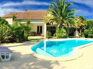 VILLADANSLESUD avec Jardin Exotique, Piscine, Tennis, Billard au milieu des bois - Sussargues vacation rentals