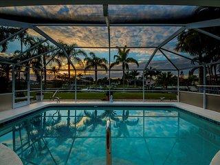 Villa Calusa - Gulf Access home sleeps 8!! Beautiful Sunsets! - Cape Coral vacation rentals