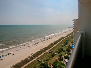 New Listing! Breakers Resort- Direct Oceanfront -Amazing Views-Waterpark hot tub - Myrtle Beach vacation rentals