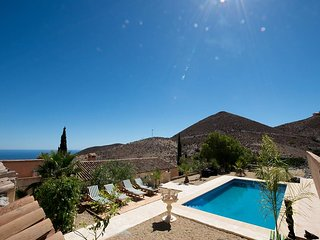 Finca mit Pool in den Bergen, Meerblick, 15 Minuten zum Strand - Aguilas vacation rentals
