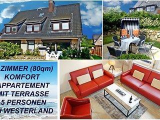 4 Zimmer Ferienwohnung auf Sylt Sylter Deichwiesen - Westerland vacation rentals