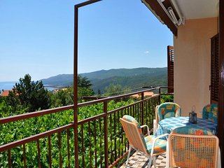 Balcony with a sea view, AC, WiFi 14 - Rabac vacation rentals