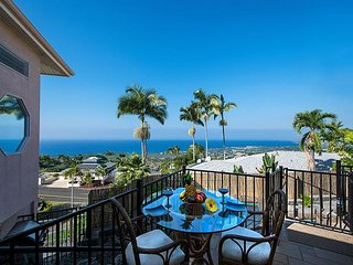 Inviting remodeled 4 bed, 4 bath home with expansive Ocean views, Pool & Spa - Kailua-Kona vacation rentals