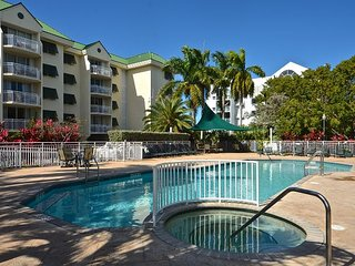 Skyline balcony views! Exquisite condo with pool and hot tub access! - Key West vacation rentals