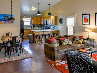 Detached Home: Rustic Southwest w/modern comforts - 3 bd, 2 ba, garage, yard - Moab vacation rentals