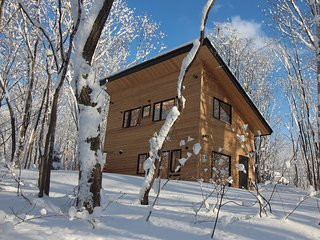 New one-bedroom cottage in secluded forest setting. - Niseko-cho vacation rentals