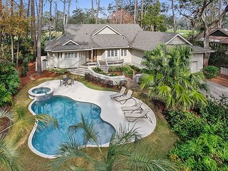 Fabulous Home with Private Pool & Spa plus views of Harbour Town Golf Links! - Hilton Head vacation rentals