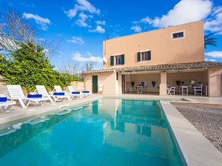 HORT DE SES BASSES - nice villa with pool in Es Palmer, Campos for 8 guests - Ses Salines vacation rentals